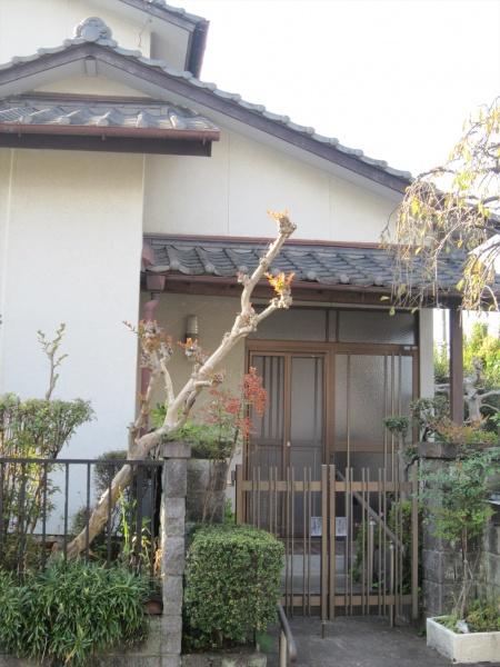 大分市中古住宅リノベーションO様邸 外観玄関ビフォー写真