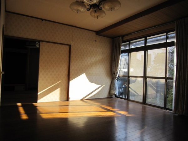 大分市中古住宅リノベーションO様邸 リビングビフォー写真