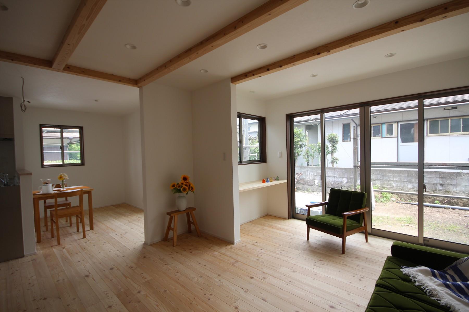 大分市中古住宅リノベーションH様邸リビングアフター写真