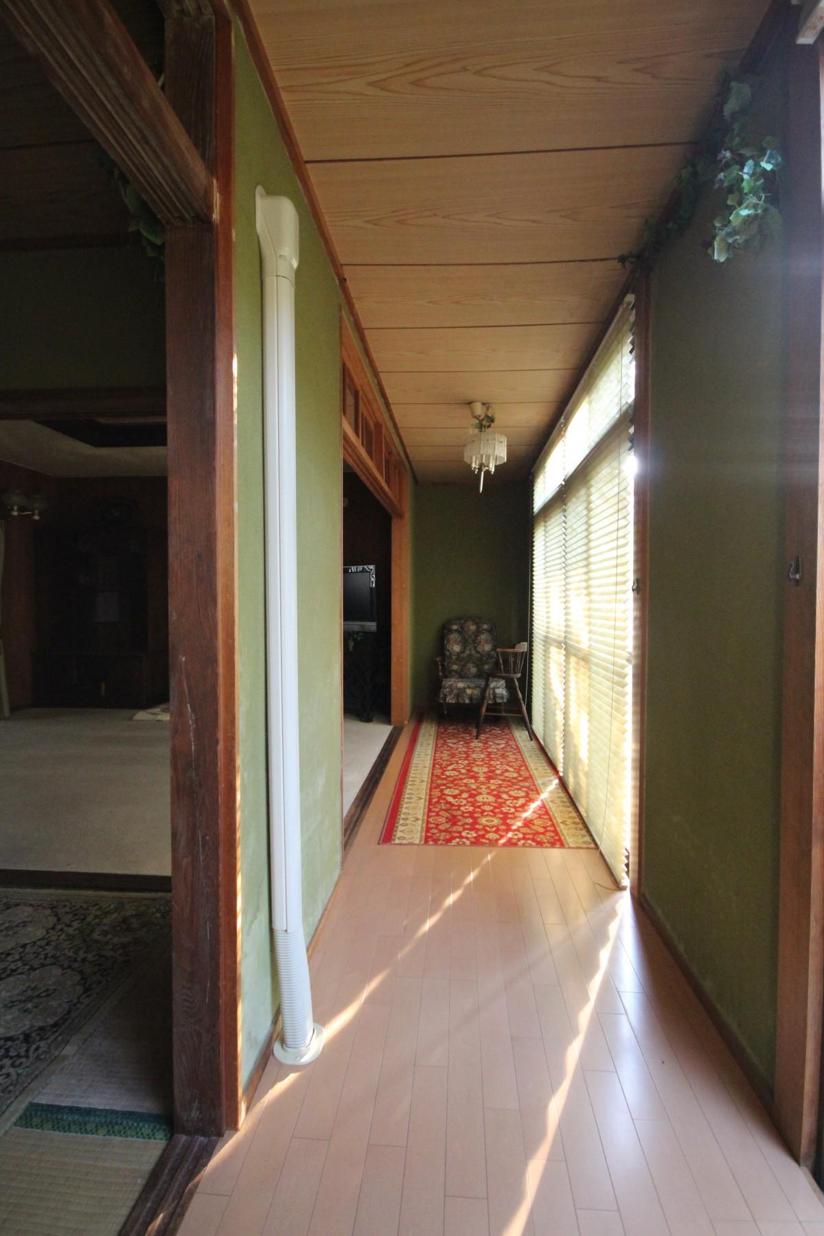 大分市中古住宅フルリノベーションY様邸ビフォアー広縁スペース写真