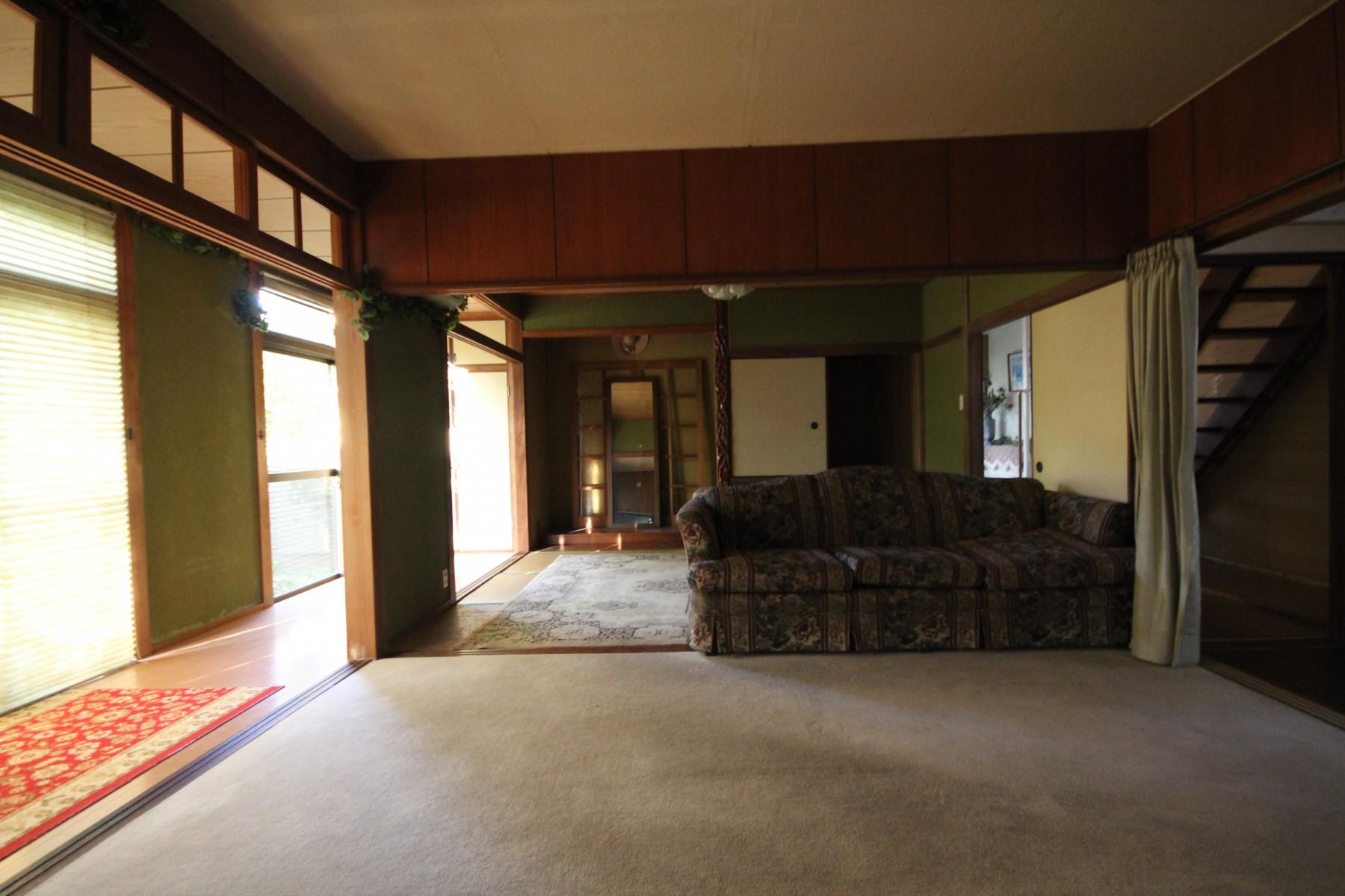 大分市中古住宅フルリノベーションY様邸ビフォーメイン写真