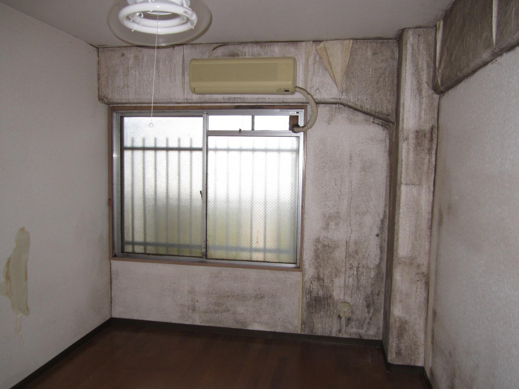 大分市中古マンションH様邸玄関スペースフルリノベーションビフォアー写真